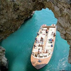 tour delle grotte marine del gargano in bus con maggialetti viaggi