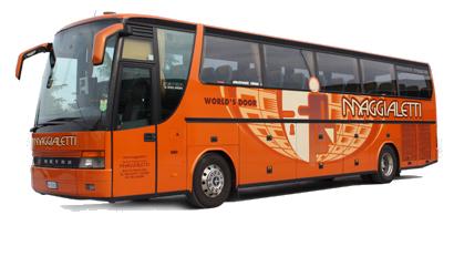 Setra S315 HDH arancio