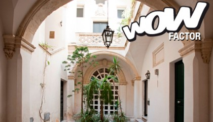 Palazzo nobiliare nel centro storico di Lecce