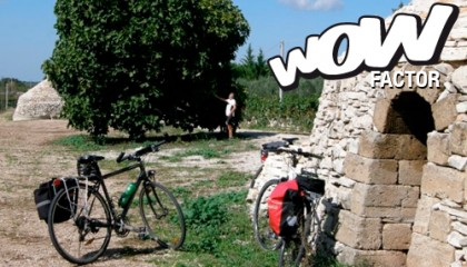 Tour di Alberobello in bicicletta