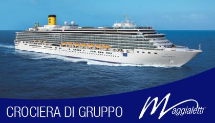"""Crociera di gruppo """"Meraviglioso Mediterraneo"""""""