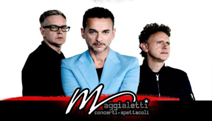 Depeche Mode – Global Spirit tour 2017- Bologna, Unipol Arena