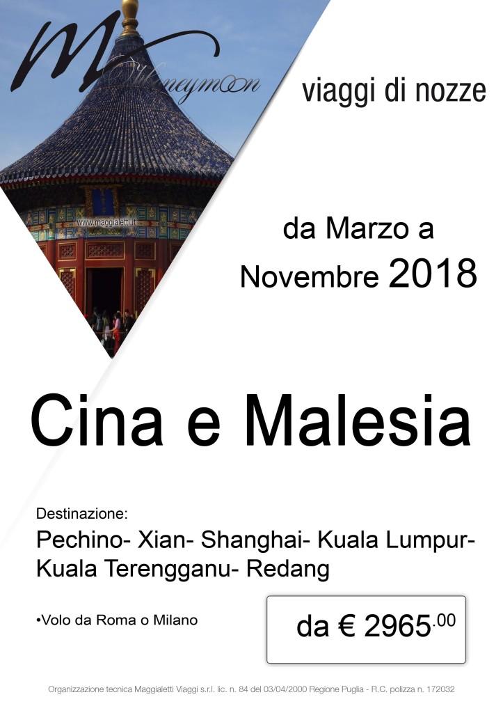 Cina e Malesia-Speciale Sposi