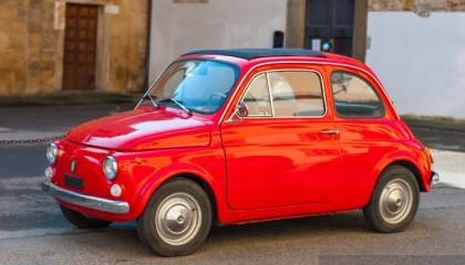 Vintage Tour with Fiat 500